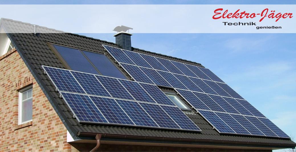 Photovoltaikanlage in Südausrichtung